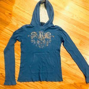 Ralph Lauren Graphic Blue Hoodie
